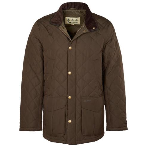 Men's Barbour Devon Olive Jacket