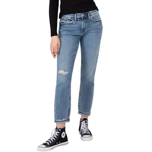 Women's Silver® Jeans Co. Not Your Boyfriend's Indigo Jeans
