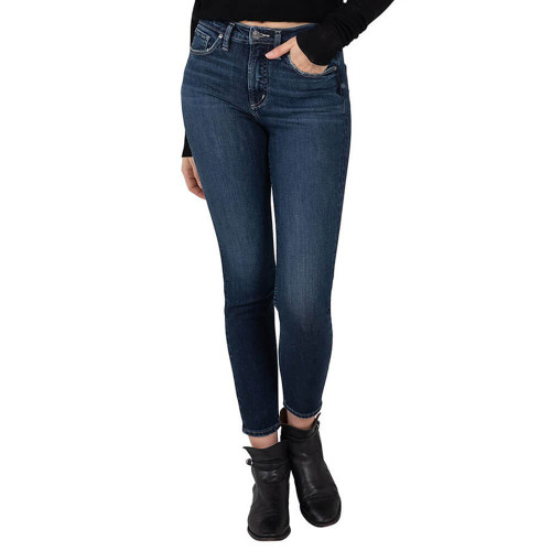 Women's Silver® Jeans Co. High Note Skinny Indigo Jeans