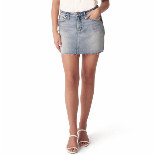 Women's Silver® Jeans Co. Francy Indigo Skirt