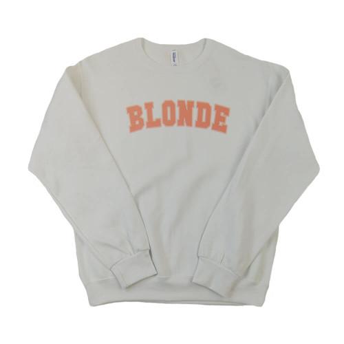 Women's Dash Forward Blondie White Sweatshirt