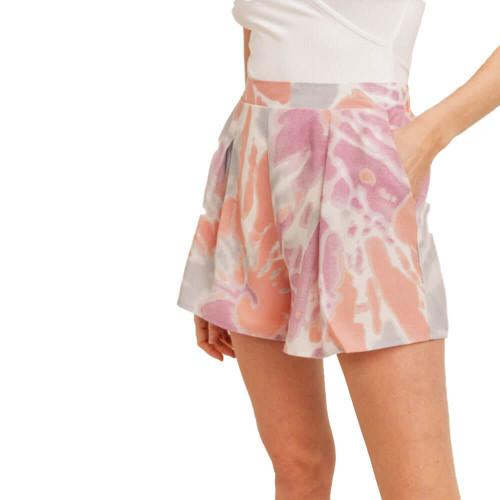 Women's Sadie & Sage Mohini Pleated Shorts