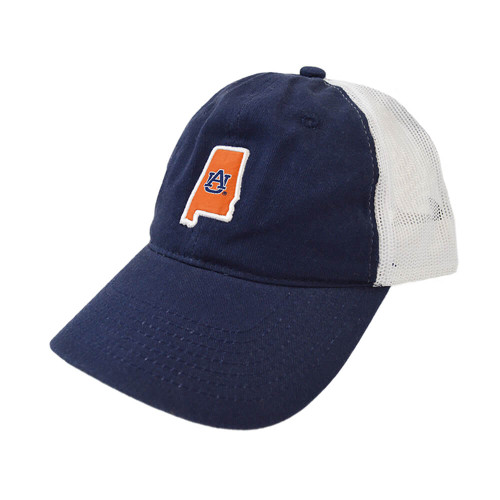 Men's Tigerwear The State Trucker Navy Hat