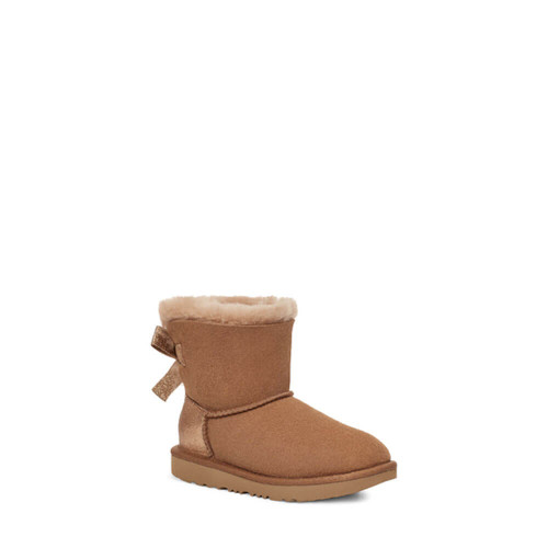 Toddler Girls' Ugg Mini Bailey Bow Glitz Boot Front CHE