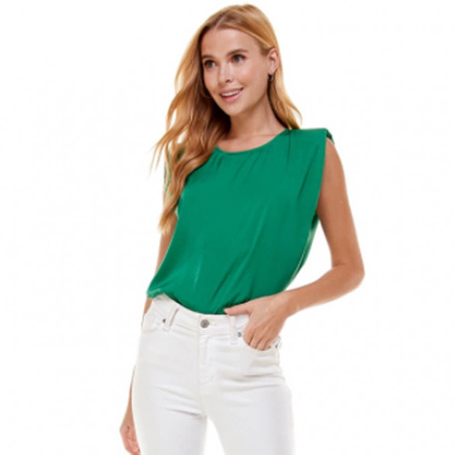 Women's TCEC Shoulder Padded Top Kelly Green