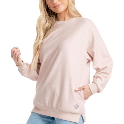 Women's Southern Shirt Co. All Washed Up Desert Rose Sweatshirt