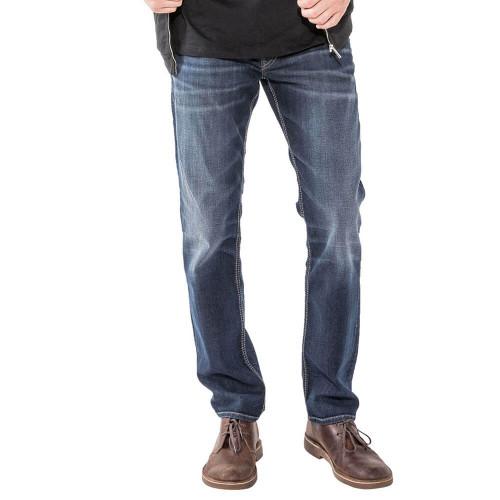 Men's Silver Jeans Co. Allan Slim Leg Jean BBS491-Indigo Front