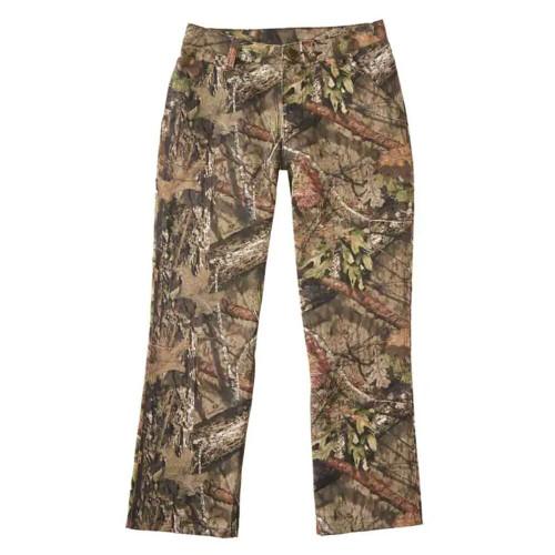 Boys' Carhartt Mossy Oak Canvas Dungaree Pants