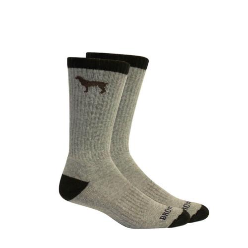 Men's Brown Dog Beau Sport Socks