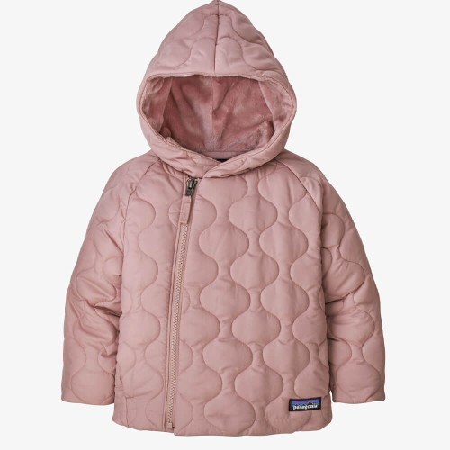 Infant/Toddler Girls' Patagonia Quilted Puff Jacket Fuzzy Mauve