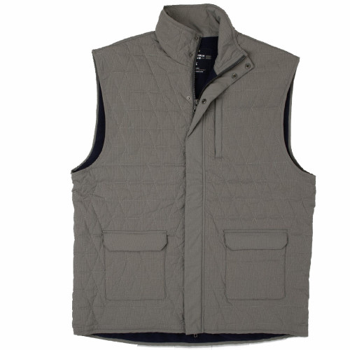 Men's Southern Marsh Asheville Quilted Burnt Taupe Vest