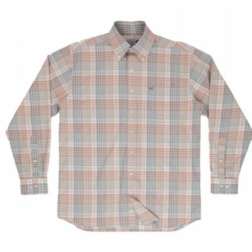 Men's Southern Marsh Barton County Washed Burnt Taupe Tan Shirt