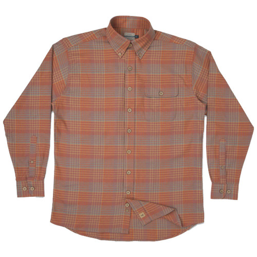 Men's Southern Marsh Junction Bend Washed Red Field Khaki Flannel
