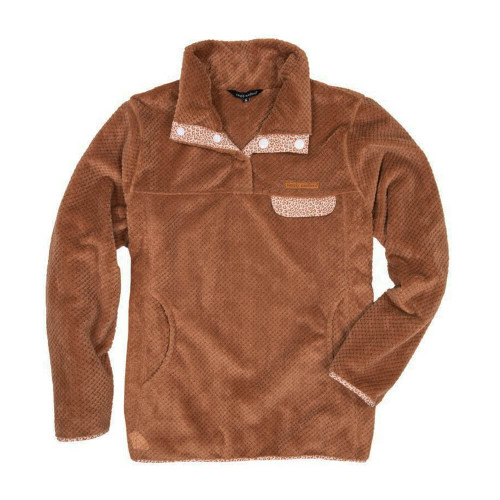 Girls' Simply Southern Super Soft Camel Pullover