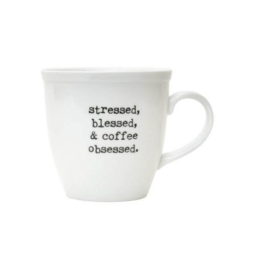 Collins Coffee Obsessed Mug