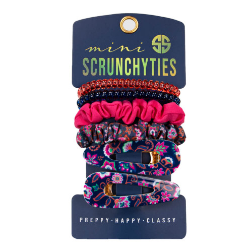 Simply Southern Mini Scrunchy Ties - Floral
