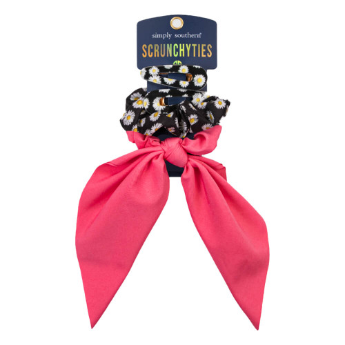 Simply Southern Scrunchy Ties - Daisy