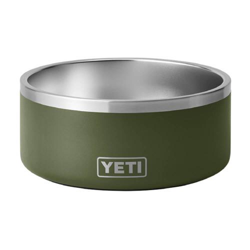 Yeti Boomer 8 Dog Bowl -Highlands Olive Front