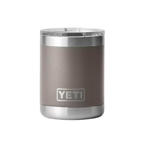 Yeti Rambler 10 oz Lowball with Magslider Lid -Sharptail Taupe Front