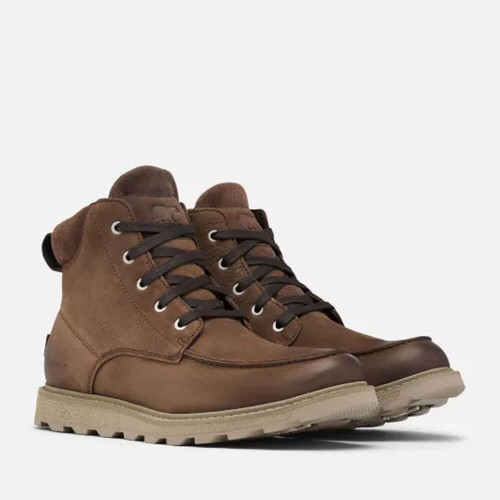 Men's Sorel Madson II Moc Toe WP Boot 242VTAN