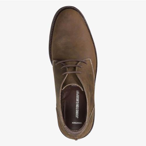 Men's Johnston & Murphy Copeland Chukka Boot - Tan Oiled Full Grain Top