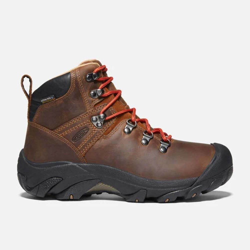 Women's Keen Pyrenees Hiking Boot - Syrup Brown Side