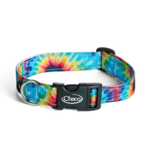 Chaco Dark Tie Dye Dog Collar