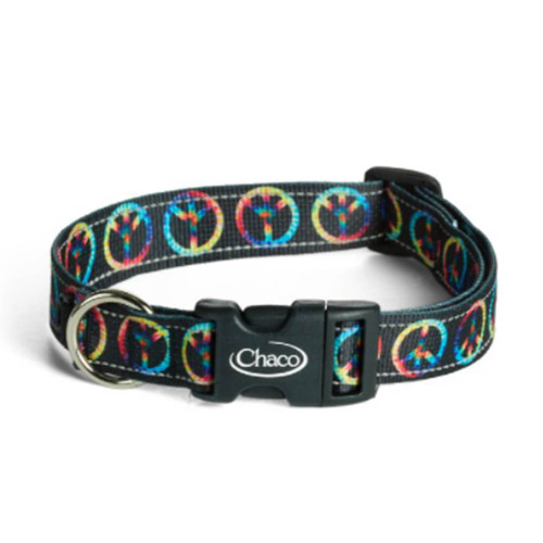 Chaco Peace Sign Dog Collar