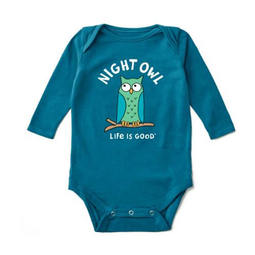 Infant Boys' Life is Good Night Owl Bodysuit