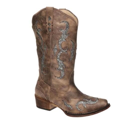 Women's Pierre Dumas Kaylee-2 Western Boot Taupe