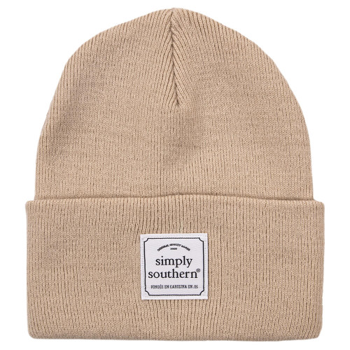 Simply Southern Solid Cream Beanie