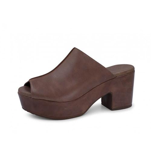 Women's Chocolat Blu Gadis Wedge Dark Brown Sandal