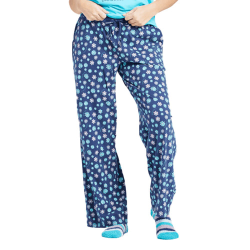 Women's Life is Good Floral Element Snuggle Up Sleep Pant