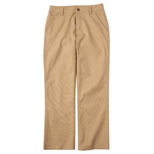 Boys' Carhartt Rugged Flex Canvas Dark Khaki Pant