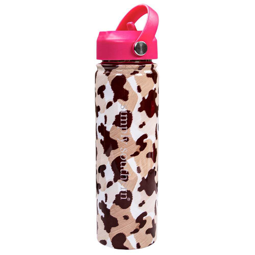 Simply Southern 22 oz Water Bottle - Cow