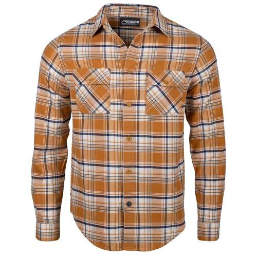 Men's Mountain Khaki Park Flannel Maize Shirt
