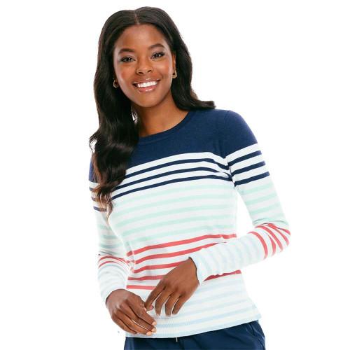 Women's Southern Tide Fireside Stripe Sweater