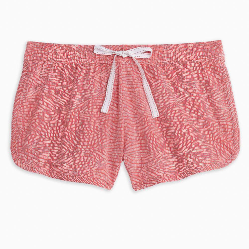 Women's Southern Tide Waves Printed Lounge Short Front