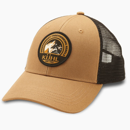 Men's Kuhl Independent Trucker Hat Dark Khaki Front