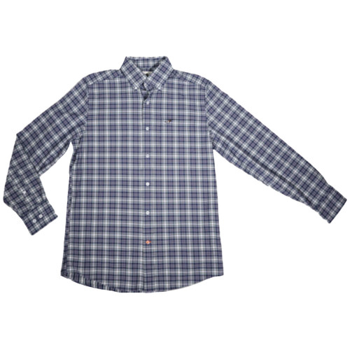 Men's Southern Point Co. Hadley Performance Navy Shirt