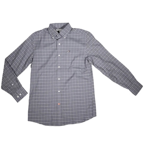 Men's Southern Point Co. Stretch Hadley Blue Green Shirt