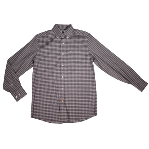 Men's Southern Point Co. Stretch Hadley Chocolate Shirt