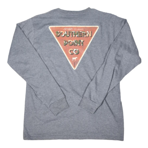 Men's Southern Point Co. Camo Triangle Orion Blue Tee
