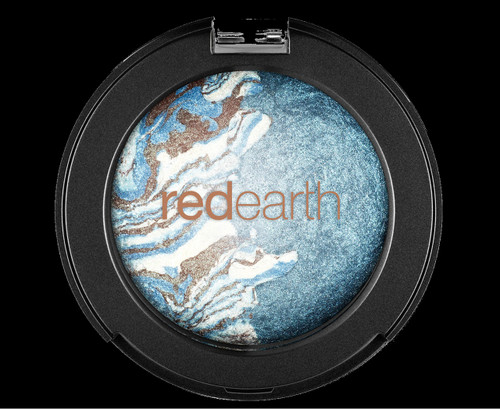 Red Earth Baked Eyeshadow Duo 2.6g - Blue Tide