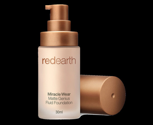 Red Earth Miracle Wear Matte Genius Fluid Foundation 30mL - Miracle 10