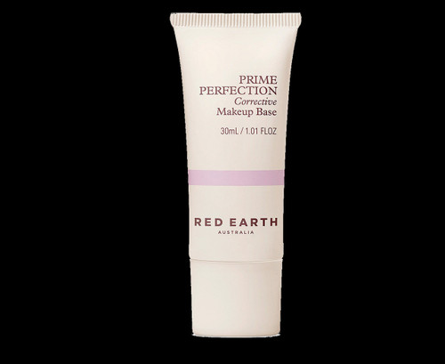 Red Earth Prime Perfection Corrective Makeup Base 30mL - Purple