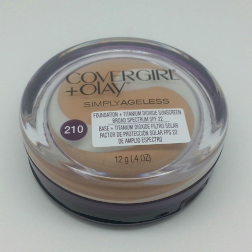 CoverGirl & Olay Simply Ageless Foundation SPF 22 #210 Classic Ivory