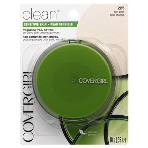 Covergirl Clean Sensitive Skin Pressed Powder Buff Beige Warm 225