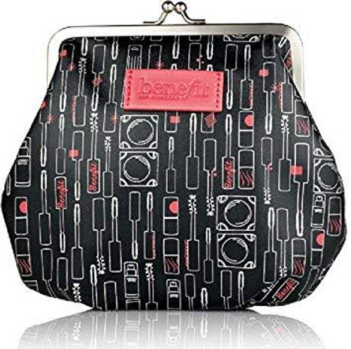 Benefit Cosmetics Limited Edition Black coin purse makeup bag