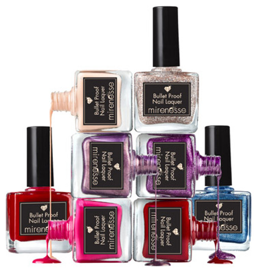 Mirenesse Bullet proof nail lacquer polish 5 Cotton Club